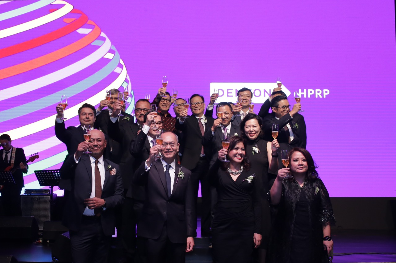 Dentons HPRP held a launch reception to celebrate its combination with Dentons